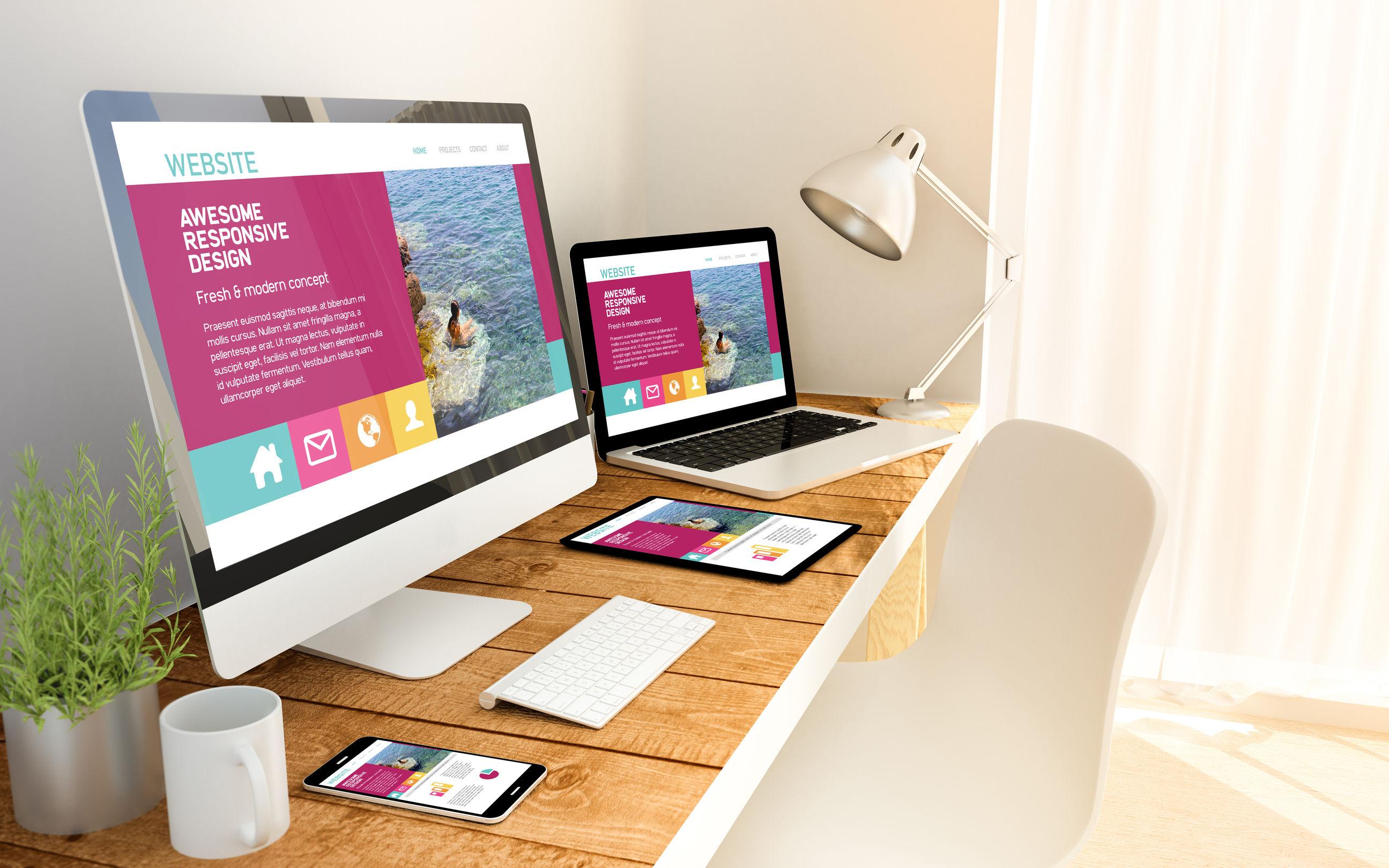 website design for all platforms